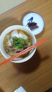 6月写経会にゅう麺