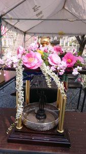 花まつり2019花御堂